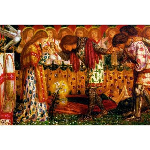 Sir Galahad Sir Bors and Sir Percival