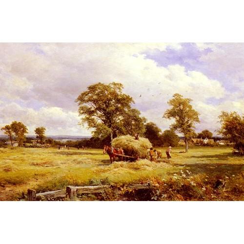 A Warwickshire Hayfield