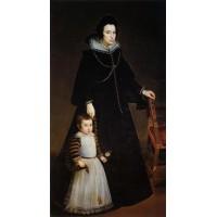Dona Antonia de Ipenarrieta y Galdos with Her Son