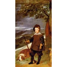 Prince Baltasar Carlos as a Hunter