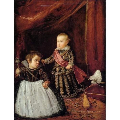 Prince Baltasar Carlos with a Dwarf