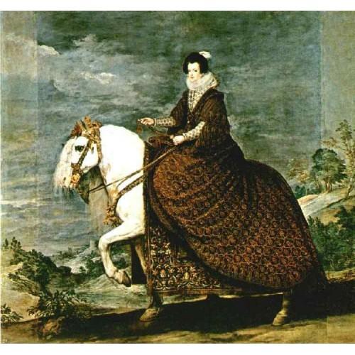 Queen Isabel of Bourbon Equestrian