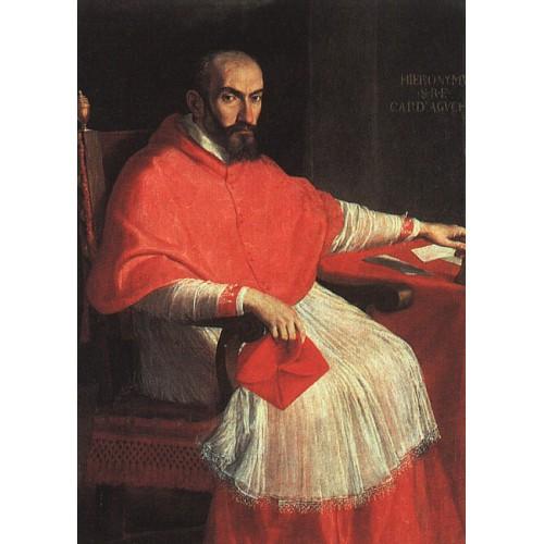 Portrait of Cardinal Agucchi