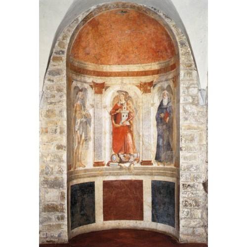 Apse fresco