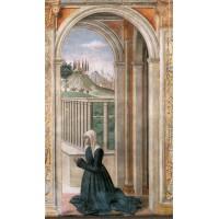 Portrait of the Donor Francesca Pitti Tornabuoni