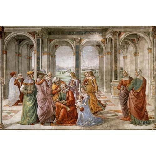 Zacharias Writes Down the Name of his Son