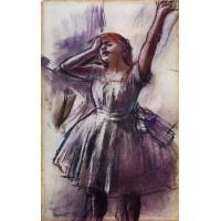 Dancer with Left Art Raised