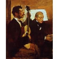 Degas' Father Listening to Lorenzo Pagans