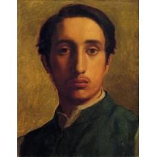 Degas in a Green Jacket