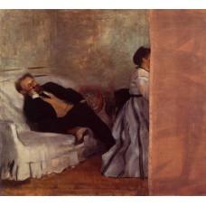 Edouard Manet and Madame