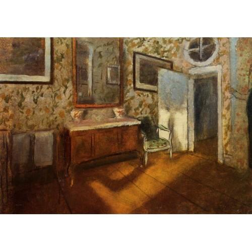 Interior at Menil Hubert