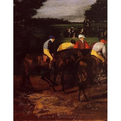 Jockeys at Epsom
