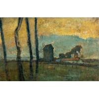 Landscape at Valery sur Somme