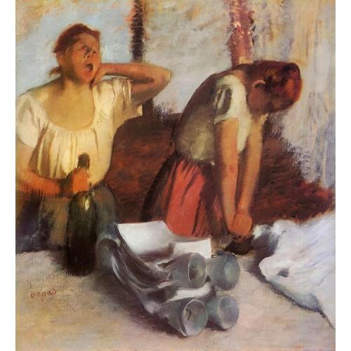 Laundry Girls Ironing 2