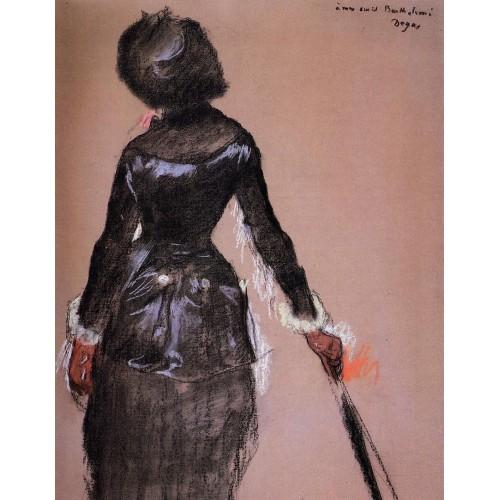 Mary Cassatt at the Louvre 1
