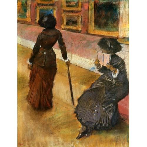 Mary Cassatt at the Louvre 2