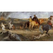 Medieval War Scene
