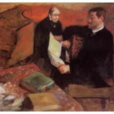 Pagan and Degas' Father
