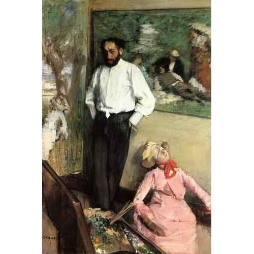 Portrait of Henri Michel Levy