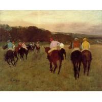 Racehorses at Longchamp 1