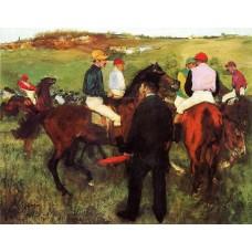 Racehorses at Longchamp 2
