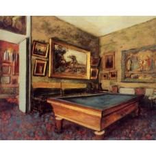The Billiard Room at Menil Hubert