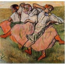 Three Russian Dancers