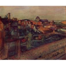 View of Saint Valery sur Somme