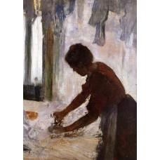 Woman Ironing 2