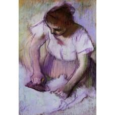 Woman Ironing 3