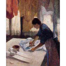 Woman Ironing 4