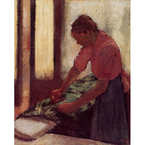 Woman Ironing 5