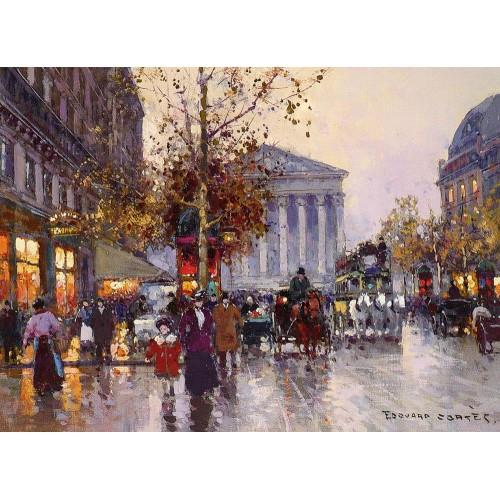 La Madeleine Vue De La Rue Royale