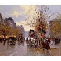 Omnibus on the Place de la Madeleine