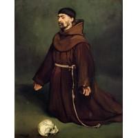 A Monk at Prayer