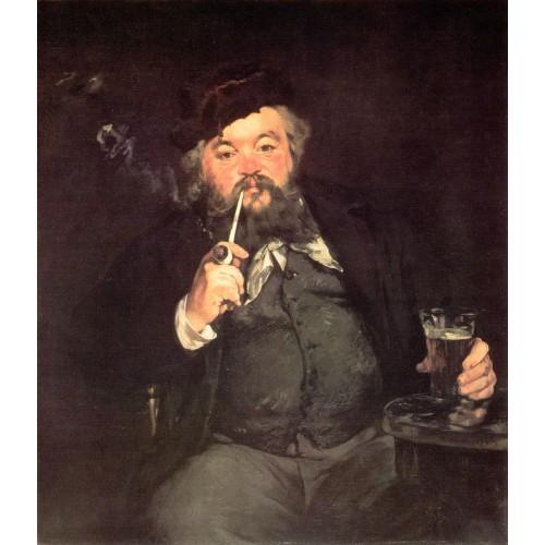 Le Bon Bock (Study of Emile Bellot)