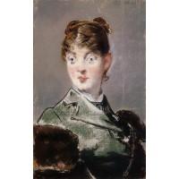 Parisienne Portrait of Madame Jules Guillemet