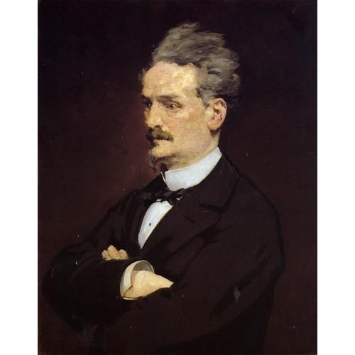 Portrait of M Henri Rochefort
