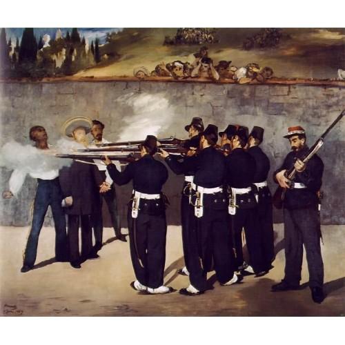 The Execution of the Emperor Maximillian 2