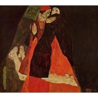 Cardinal and Nun