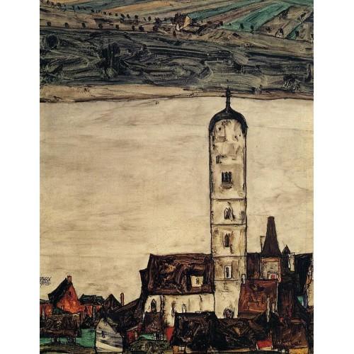 Church in Stein on the Danube