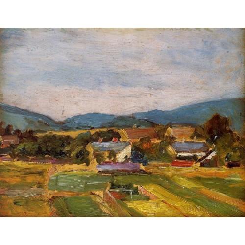 Landscape in Lower Austria