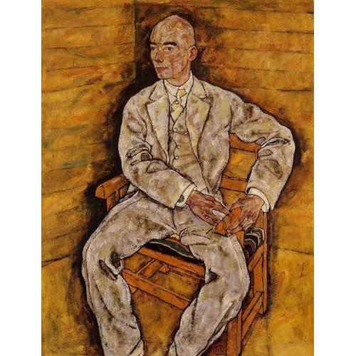 Portrait of Dr Viktor Ritter von Bauer 2