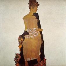 Portrait of Gerta Schiele