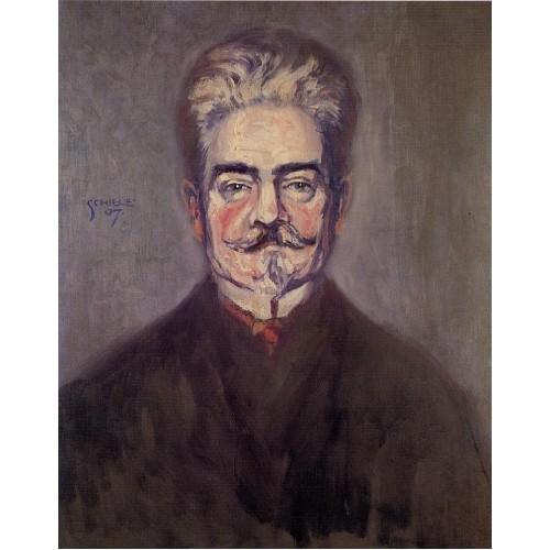 Portrait of Leopold Czihaczek