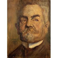 Portrait of Leopold Czihaczek (Head of a Bearded Man)