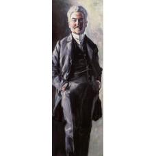 Portrait of Leopold Czihaczek Standing