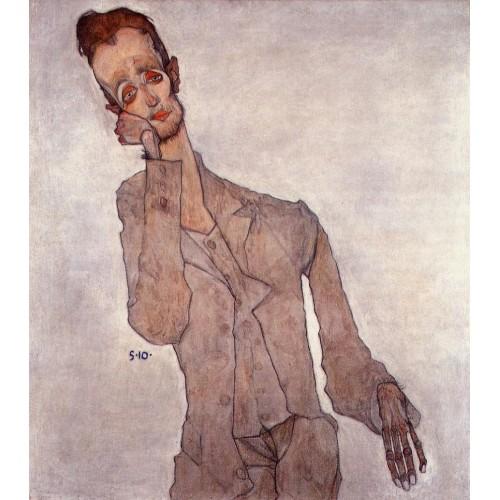 Portrait of the Painter Karl Zakovsek