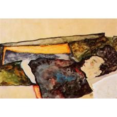 The Artist's Mother Sleeping