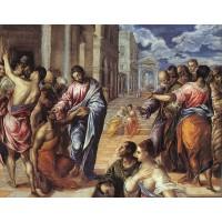 Christ Healing the Blind 3